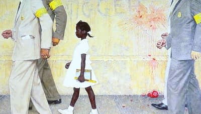 Norman Rockwell painting inspires viral image of VP-elect Kamala Harris