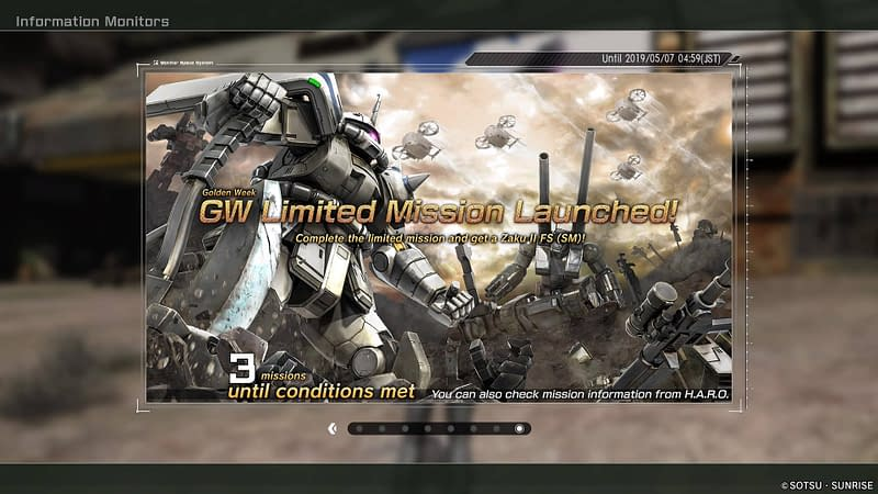 Login and Meet conditions to get the Zaku II FS (SM)
