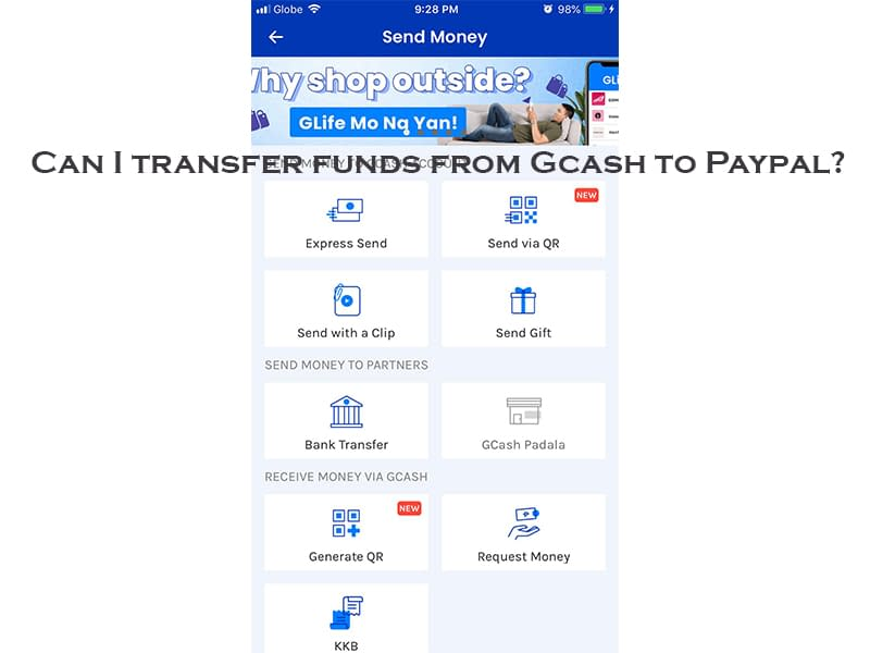 Can I Transfer Funds from Gcash to Paypal?
