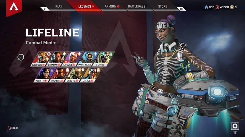 Apex Legends Characters or just Legends